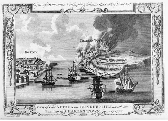 Burning of Charlestown